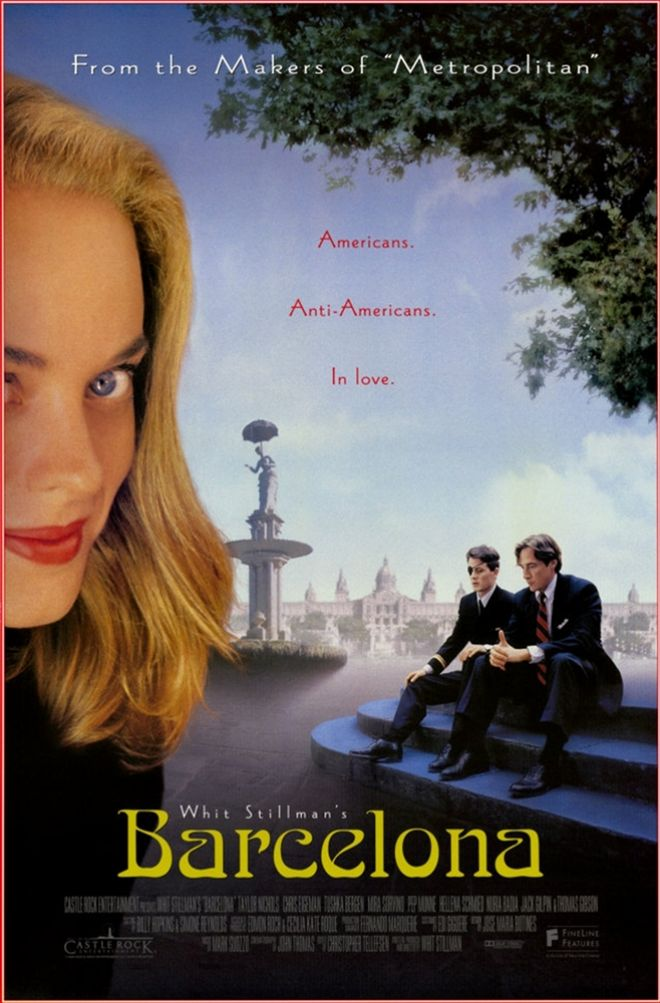 Teaser de la película Barcelona de Whit Stillman